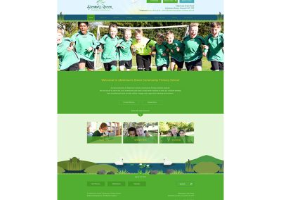 Aldermans-Green-Community-Primary-School Web Design Edinburgh