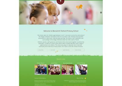 Barwick-and-Stoford-Community-Primary-School Web Design Edinburgh