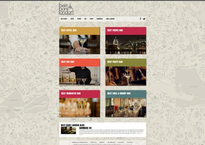 Best-Bar-London Web Design Edinburgh