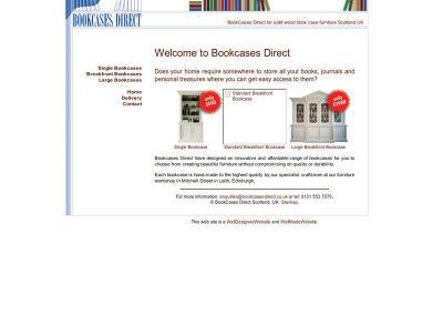 BookCases Direct Builders Web Design Edinburgh