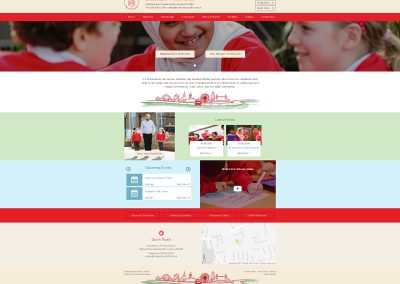 Brackenbury-Primary-School Web Design Edinburgh