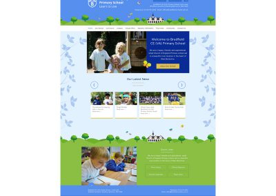 Bradfield-Primary-School Web Design Edinburgh