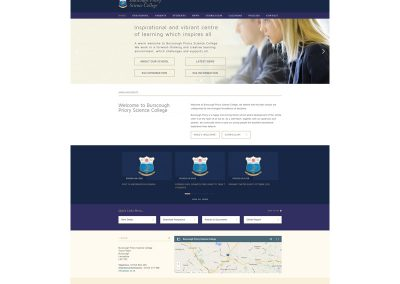 Burscough-Priory-Science-College Web Design Edinburgh