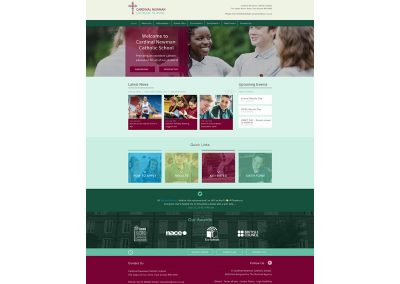 Cardinal-Newman-Catholic-School Web Design Edinburgh