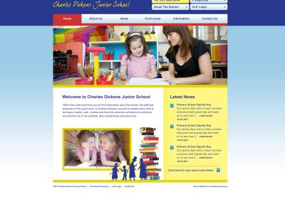 Charles-Dickens-School Web Design Edinburgh