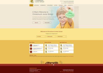 Christchurch-Junior-School Web Design Edinburgh
