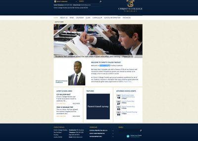 Christs-College-School Web Design Edinburgh