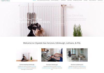 Citywide-Gas-services Web Design Edinburgh