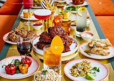 Clutch-Fried-Chicken-Restaurant Web Design Edinburgh