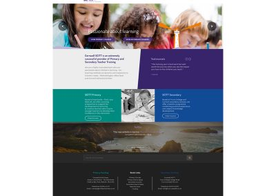 Cornwall-SCITT School Web Design Edinburgh