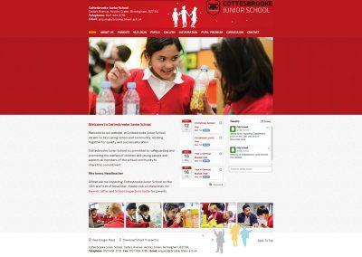 Cottesbrooke-junior-School Web Design Edinburgh