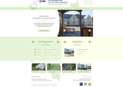 Cranborne-First-School Web Design Edinburgh