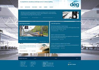 DEG-Signals Web Design Edinburgh