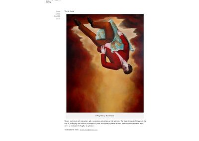 David Hosie artist Web Design Edinburgh