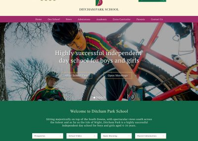 Ditcham-Park-School Web Design Edinburgh