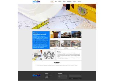 Dovetail-Joinery-Builders Web Design Edinburgh