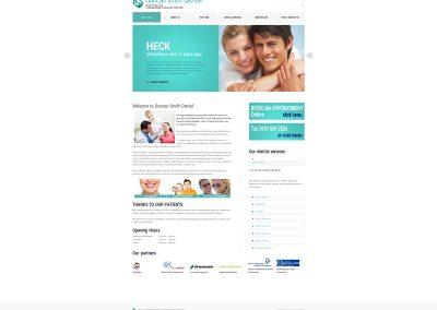 Duncan-Smith-Dentists Web Design Edinburgh