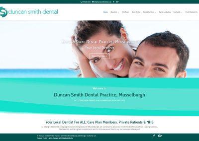 DuncanSmith-Dental-Practice Web Design Edinburgh