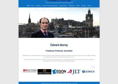 Edward-Murray-financial-journalist Web Design Edinburgh
