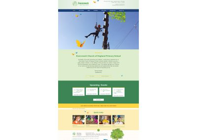 Evercreech-Primary-School Web Design Edinburgh
