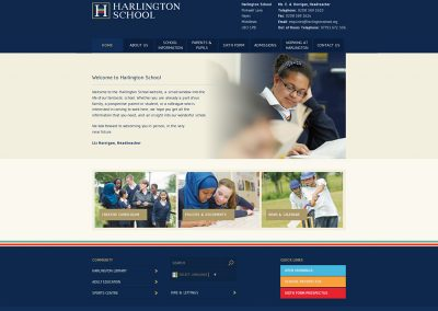 Harlington-School Web Design Edinburgh
