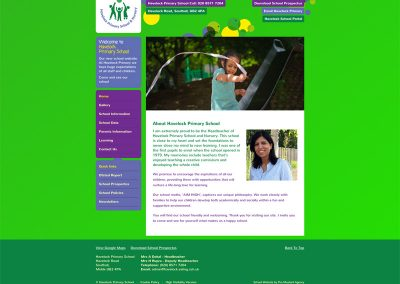 Havelock-Primary School Web Design Edinburgh