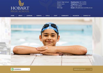 Hobart-High-School Web Design Edinburgh