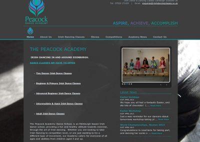 IrishDancingClassesSchool Web Design Edinburgh
