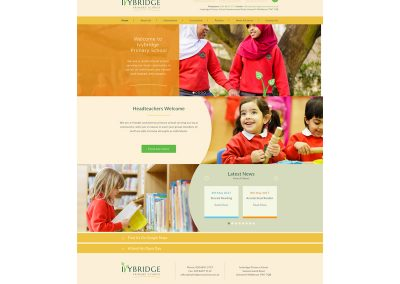 Ivybridge-Primary-School Web Design Edinburgh
