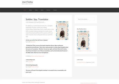 Jean-Findlay publishers Web Design Edinburgh