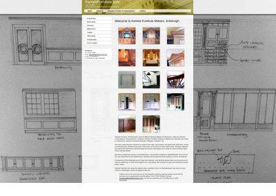 Kerrera Furniture Web Design Edinburgh