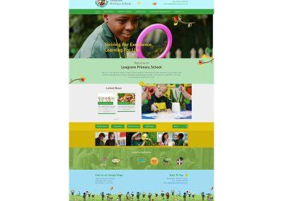 Leagrave-Primary-School Web Design Edinburgh