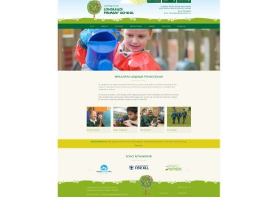Longleaze-Primary-School Web Design Edinburgh