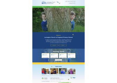Lovington-Primary-School Web Design Edinburgh