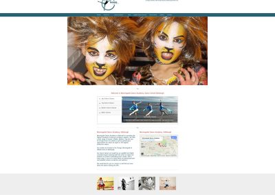 Morningside-Dance-Academy-School- Web Design Edinburgh