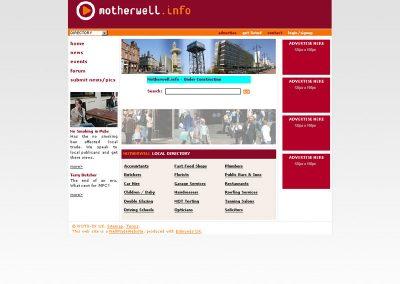 Motherwell Web Design Edinburgh