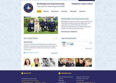 Newbridge-Learning-Community School Web Design Edinburgh