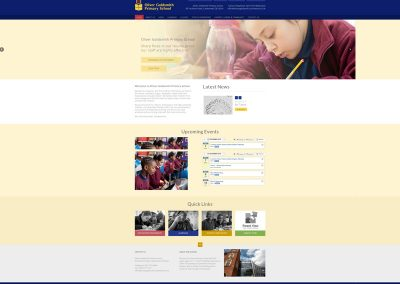 Oliver-Goldsmith-School Web Design Edinburgh