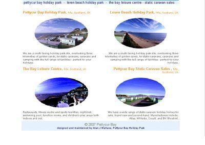 Pettycur Holiday Travel Web Design Edinburgh 02