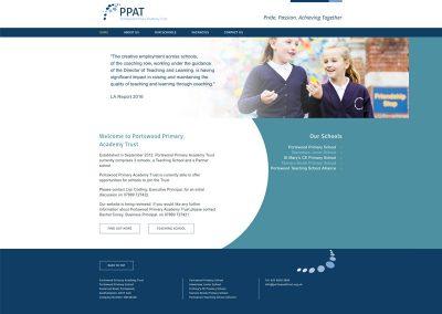 Portswood-Primary-Academy-Trust school Web Design Edinburgh