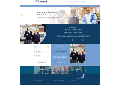 Portswood-Primary-School Web Design Edinburgh