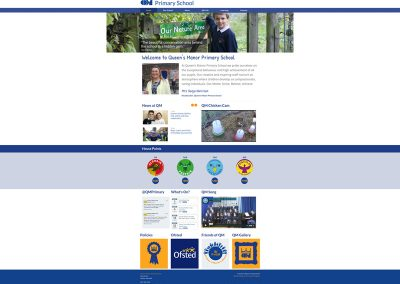 Queensmanor-Primary-School Web Design Edinburgh