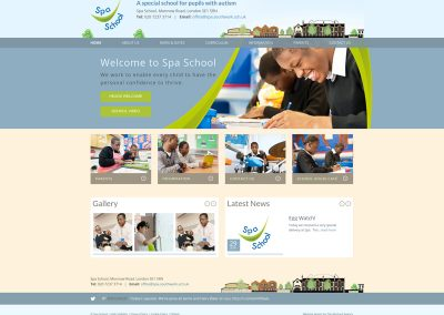 Spa-School Web Design Edinburgh