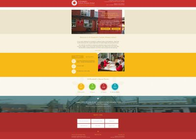 St-Elizabeths-Catholic-Primary-School Web Design Edinburgh