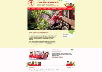 St-Martins-Primary School Web Design Edinburgh