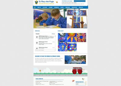 St-Mary-Primary School Web Design Edinburgh
