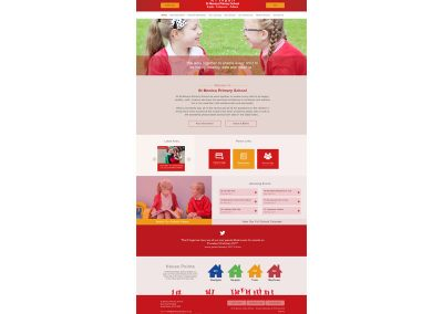 St-Monica-Primary-School Web Design Edinburgh