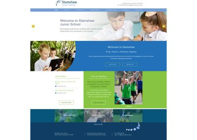 Stamshaw-Junior-School Web Design Edinburgh