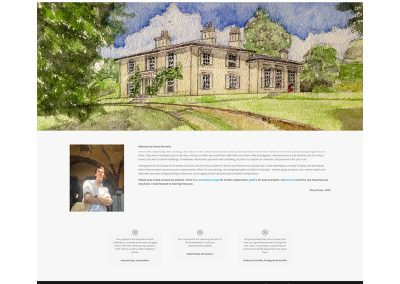 Stone-Portraits-Artist Web Design Edinburgh