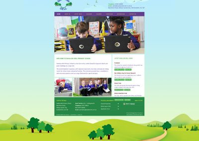 Swallow-Dell-Primary School Web Design Edinburgh